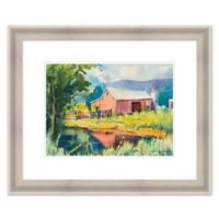 Country Home 27.75-Inch x 23.75-Inch Framed Wall Art