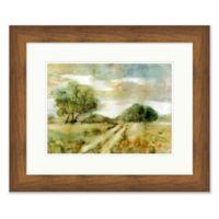Rustic Field 1 19.5-Inch x 23.5-Inch Framed Wall Art