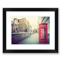 London Calling 23.5-Inch x 19.5-Inch Framed Wall Art