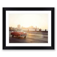 Malecon Sunset 31.5-Inch x 25-Inch Framed Print Wall Art