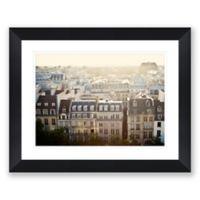 Dreams of Paris 40.2-Inch x 32.2-Inch Framed Wall Art