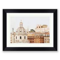 Roma 27.5-Inch x 21.5-Inch Framed Wall Art