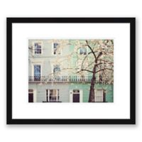 London Pastels 19.5-Inch x 23.5-Inch Framed Print Wall Art