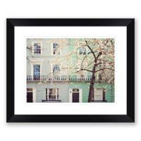 London Pastels 25.5-Inch x 31.5-Inch Framed Print Wall Art