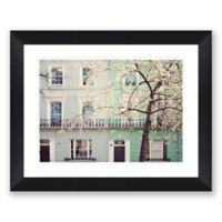 London Pastels 32.2-Inch x 40.2-Inch Framed Print Wall Art