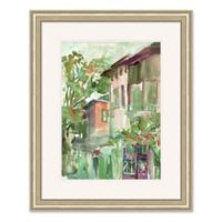 Watercolor Town 2 25.5-Inch x 31.5-Inch Framed Wall Art
