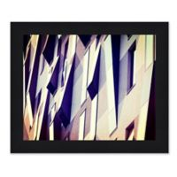City Detail 33.5-Inch x 27.5-Inch Framed Wall Art