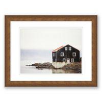House 17.5-Inch x 14.5-Inch Framed Wall Art