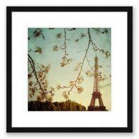 Eiffel Tower 23.5-Inch Square Framed Wall Art