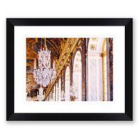 Chandelier 31.5-Inch x 25.5-Inch Framed Wall Art