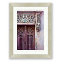 Ornamental Architecture 21-Inch x 27.5-Inch Framed Print Wall Art