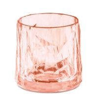 Koziol Club Tumbler Glasses in Rose (Set of 6)