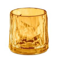 Koziol Club Tumbler Glasses in Amber (Set of 6)
