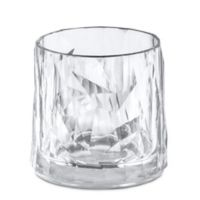 Koziol Club Tumbler Glasses in Clear (Set of 6)