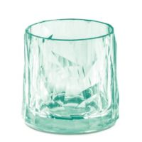 Koziol Club Tumbler Glasses in Jade (Set of 6)