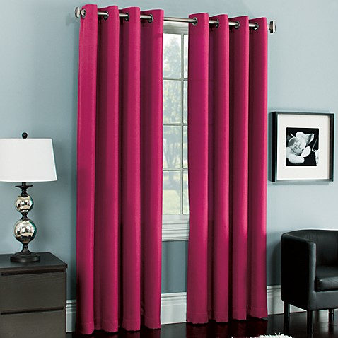 Parker Grommet Window Curtain Panels