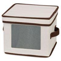Household Essentials® Dessert Plate Storage Box in Cream