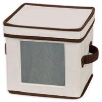 Household Essentials® Salad Plate/Bowl Storage Box in Cream
