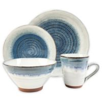 Sango® Talia 16-Piece Dinnerware Set in Blue