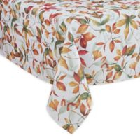 Saro Lifestyle Feuilles 70-Inch x 140-Inch Oblong Tablecloth