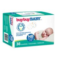 buybuy BABY™ 36-Count Size Newborn Jumbo Diapers in Dots and Stars