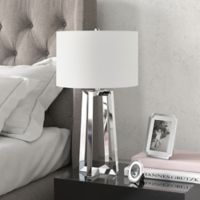Hudson&canal Helena Table Lamp in Nickel