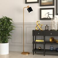 Hudson&canal Thew Floor Lamp in Black