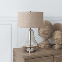 Hudson&canal Lagos Table Lamp in Nickel