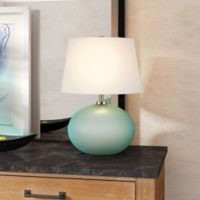 Hudson&canal Reese Table Lamp in Green