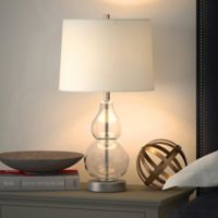 Hudson&canal Katrina Table Lamp in Clear