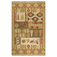 Rizzy Home Nature Patchwork 8' X 10' Tufted Area Rug in Brown