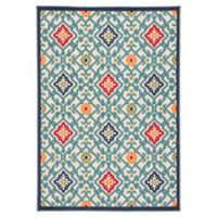 Jaipur Living Trellis Indoor/Outdoor Multicolor 7'4 x 9'6 Area Rug