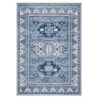 Safavieh Kazak Samara 5'3 x 7'6 Area Rug in Blue