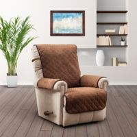 Prism Secure Fit Recliner Protector in Saddle