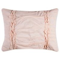 Rizzy Home Clementine King Pillow Sham in Pink
