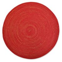 Design Imports Variegated Placemats in Red (Set of 6)