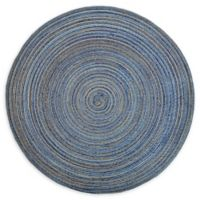 Design Imports Variegated Placemats in Blue (Set of 6)