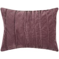 Rizzy Home Plumcicle Standard Pillow Sham in Purple