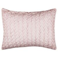 Rizzy Home Carly King Pillow Sham in Pink