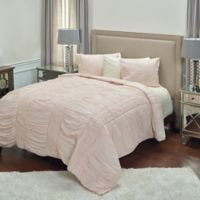 Rizzy Home Carly Twin XL Quilt in Pink
