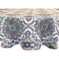 Colordrift Caravan 70-Inch Round Tablecloth