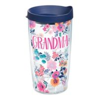 """Tervis® """"Grandma"""" Floral 16 oz. Wrap Tumbler with Lid"""