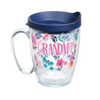 """Tervis® """"Grandma"""" Floral 16 oz. Wrap Mug with Lid"""
