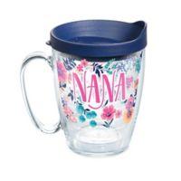 """Tervis® """"Nana"""" Floral 16 oz. Wrap Mug with Lid"""