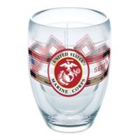 Tervis® 9 oz. United States Marines Camo Stemless Wine Glass