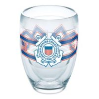 Tervis® 9 oz. United States Coast Guard Camo Stemless Wine Glass