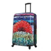 Mia Toro ITALY Sunrise 28-Inch Hardside Spinner Checked Luggage