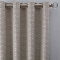 Cascade 63-Inch Grommet Window Curtain Panel in Silver
