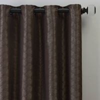Dimensions 63-Inch Grommet Window Curtain Panel in Bronze