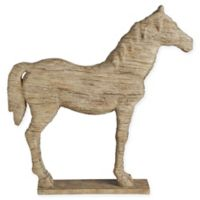 A&B Home Defiance Polyresin Standing Horse Figurine